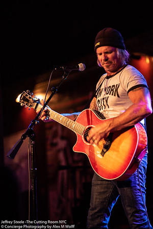 Jeffrey Steele at The Cutting Room