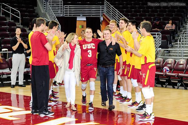 USC Men's Volleyball v CSUN 2013