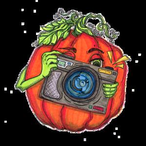 Pumpkin Photo Logo