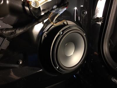 2012 Audi A4 Rear Door Speaker Installation - USA