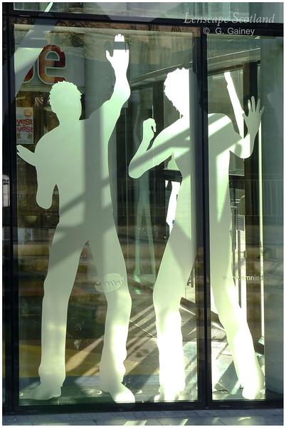 Omni Centre - window decoration