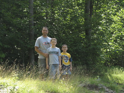 Don's Family in Shunk - August 2006