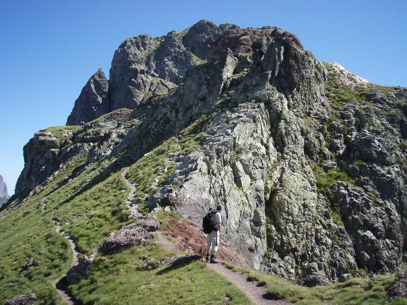Pico Anayet final ascent