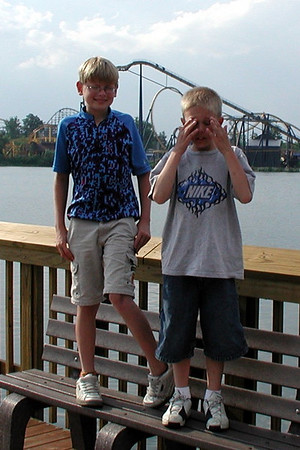 Mason & Damon's Vacation in Andover June 2006