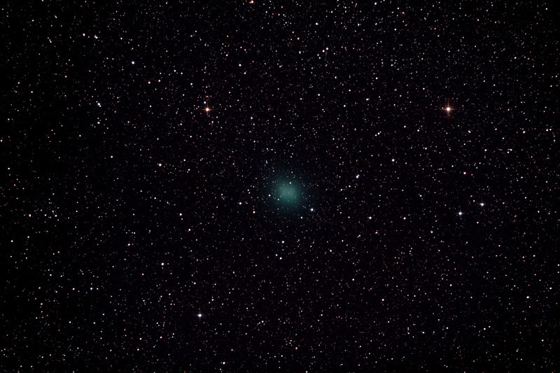 Comet C/2012 F6 Lemmon - 18/1/2013 (Processed stack)