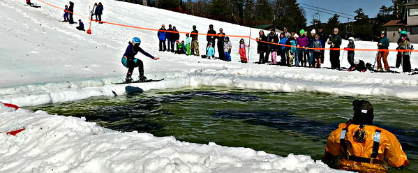 Pond Skimming - April 1, 2018