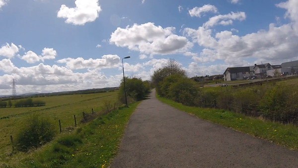 tctours2016 episode 11 - Dalkeith to Penicuik Railway Path