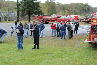 SCHUYLKILL HISTORICAL FIRE SOCIETY MUSTER FIRE SCHOOL MEMORIAL SERVICE 10-2-2011 PICTURES BY COALREGIONFIRE
