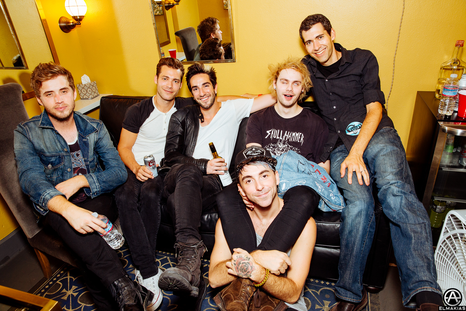 All Time Low, 5 Seconds of Summer, and friends