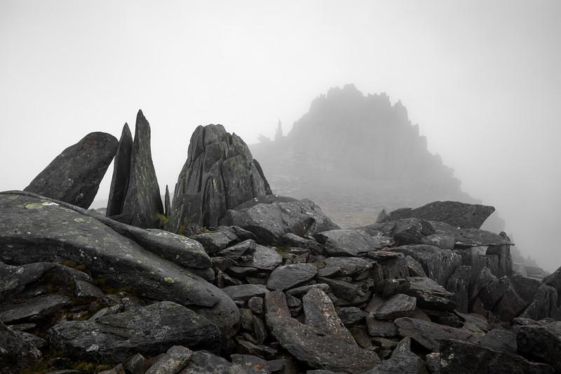 Snowdonia Castle of the winds glyders llyn ogwen fog mountain rocks.jpg