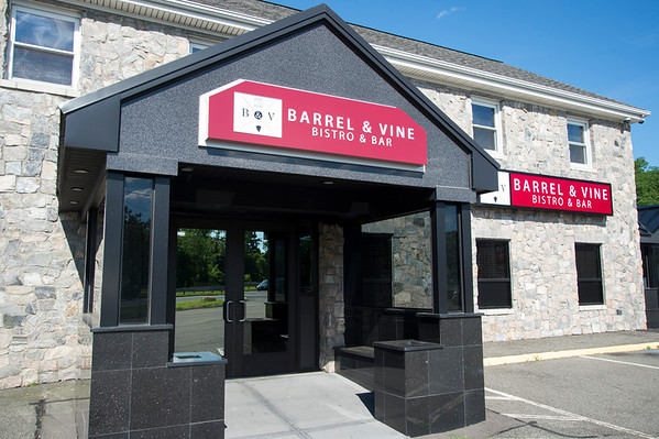 06/26/19 Wesley Bunnell | Staff The Barrell & Vine Restaurant which will be opening at 1861 Wilbur Cross Parkway in Berlin.