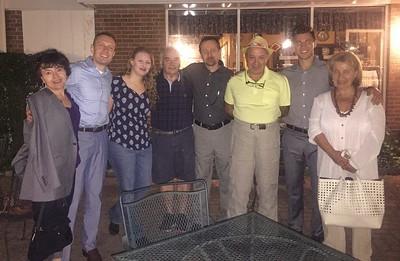 Dina Bat Mitzvah Dinner at Shukhman's House