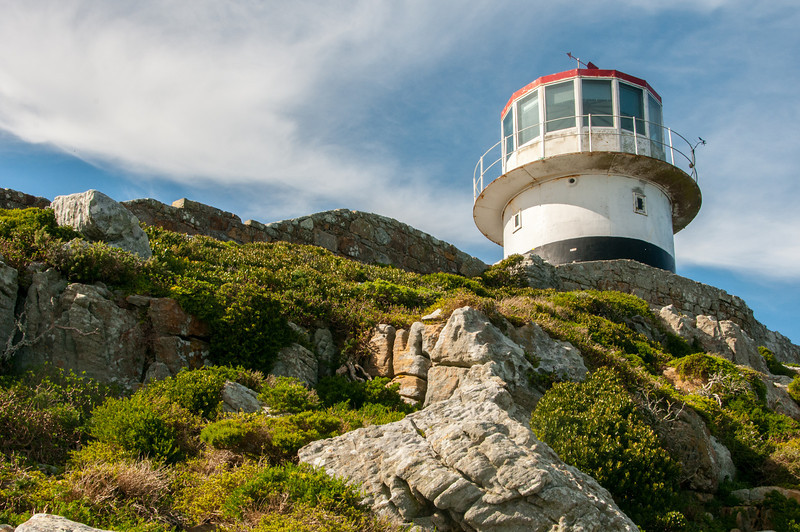 Lighthouse in Cape of Good Hope, South Africa