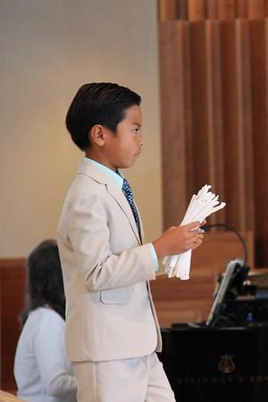 2018-0603-2 First Communion 10:30am Mass