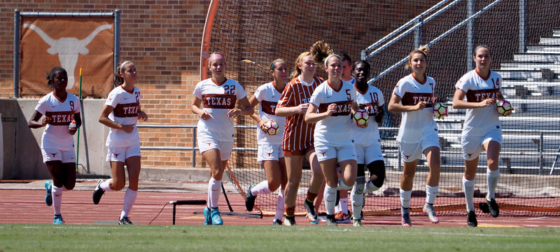 University of Texas Soccer vs. Kansas 10.2.2016