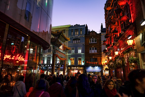China Town and Harrod's
