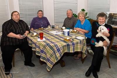 2007-11-27 Plano Thanksgiving Dinner