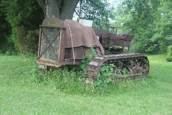 Antique Caterpillar Tractor