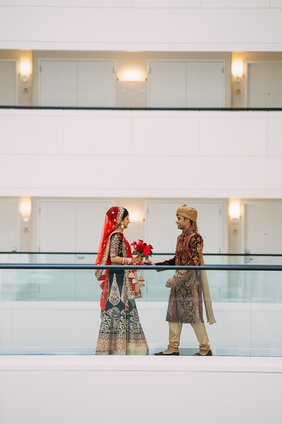 Le Cape Weddings - Indian Wedding - Day 4 - Megan and Karthik First Look 15.jpg