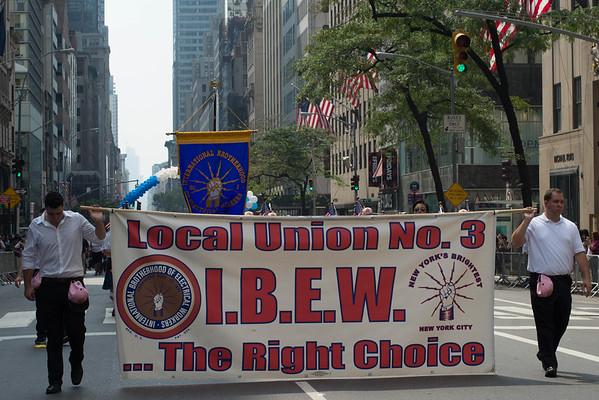 IBEW Labor Day Parade 2016