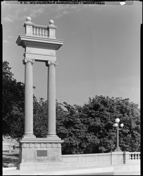 1999, Column Detail on North Broadway Bridge