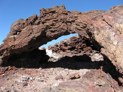 Petroglyph Nat. Mon. - Volcanoes Hike  1-12-09
