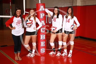 Antonian Volleyball 2013 Portraits