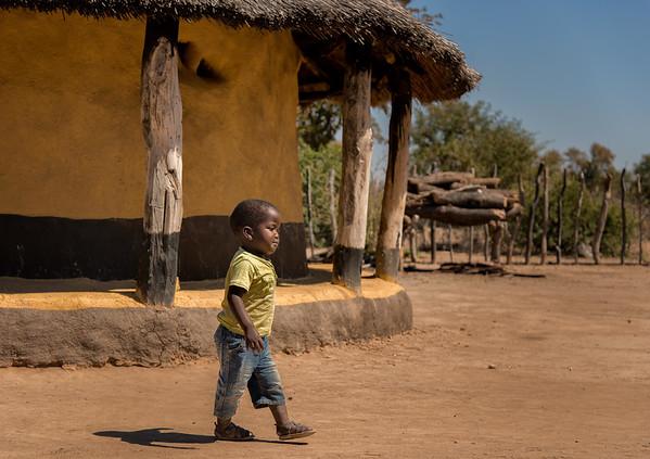 African Safari - Visit to Village - Zimbabwe - Aug. 2014