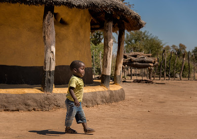 African Safari - Visit to Village - Zimbabwe - Aug. 2014