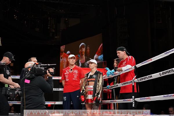 Serrano Defeats Eva Voraberger by 1st Round KO