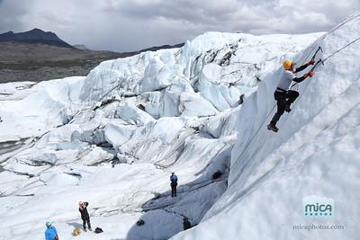 Ice Climb with Scott and Sam