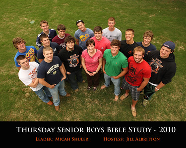Senior Boys Bible Study - 4/22/10