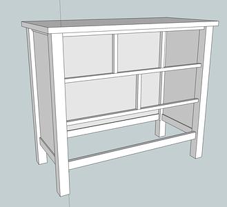 Woodworking: Dresser