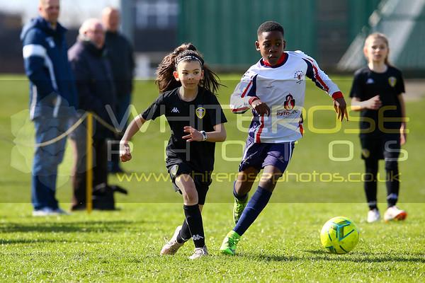 Leeds United Under 11's Girls