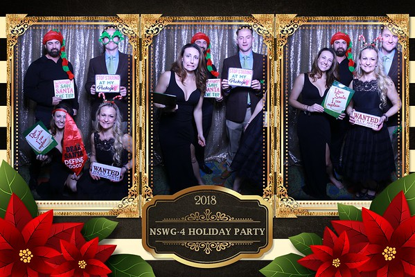 NSWG-4 HOLIDAY PARTY