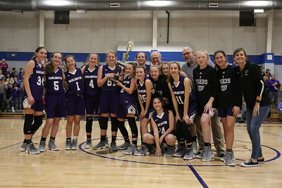 DMS girls Basketball Championship 2019