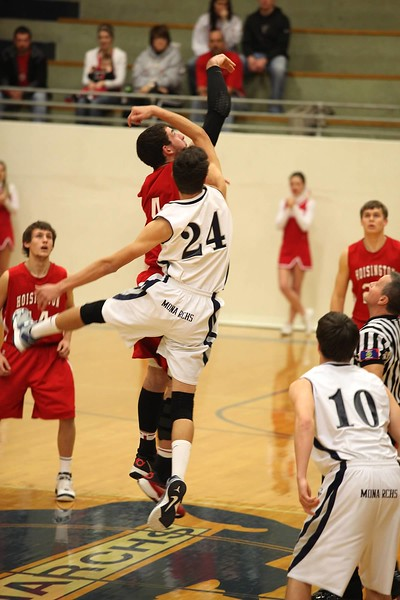 Boys Basketballl vs. Hoisington 2013