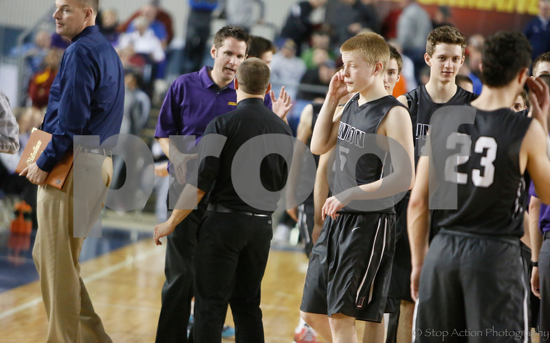 2015-03-05 Issaquah Boys Basketball vs Union at State