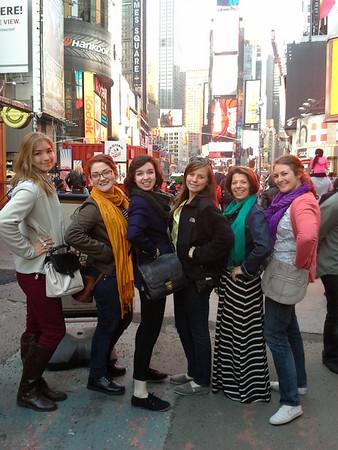 Chorale New York Trip 2013