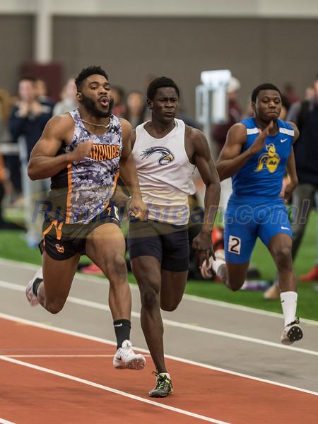 WHAC Indoor Track 2017 - 60 Meter Dash Men