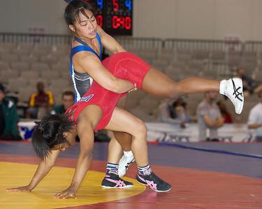 Women's Freestyle Preliminaries, Quarterfinals and Semifinals
