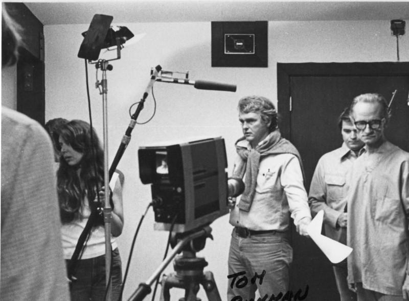 Tom Rickman Gill Dennis (back, right). 1977