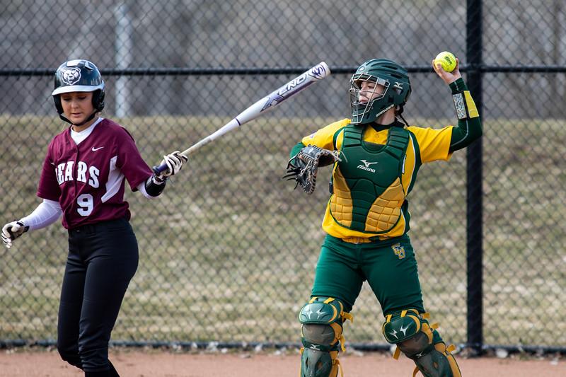 Clarkson Athletics: Women Softball vs. Potsdam State. (Potsdam home)