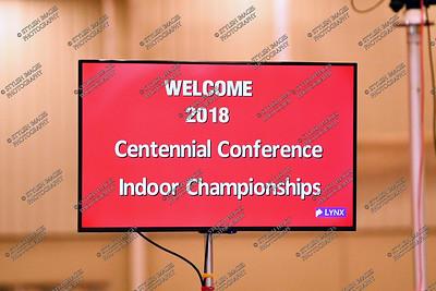 Centennial Conf Championships - Sunday
