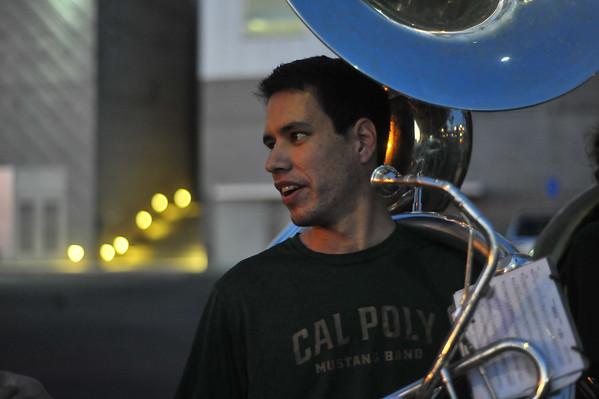 B Band, Men's Basketball vs UC Irvine