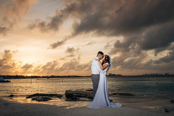 Erika + Chris - Wedding - Dreams Resort Cancun