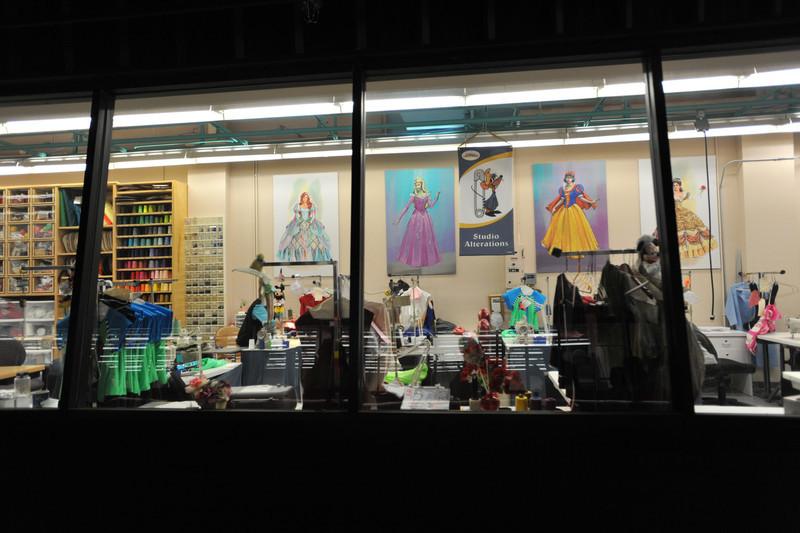 Costume Shop - Studio Backlot Tours