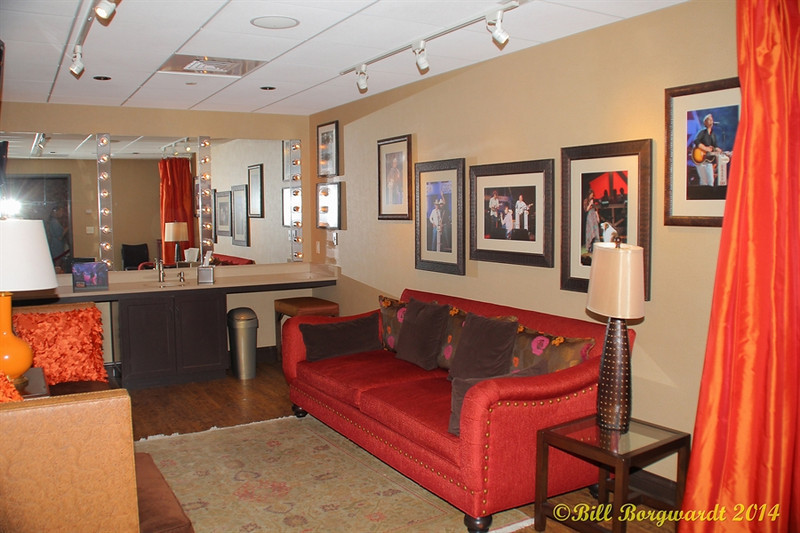 One of the Opry dressing rooms - Opry Backstage tour
