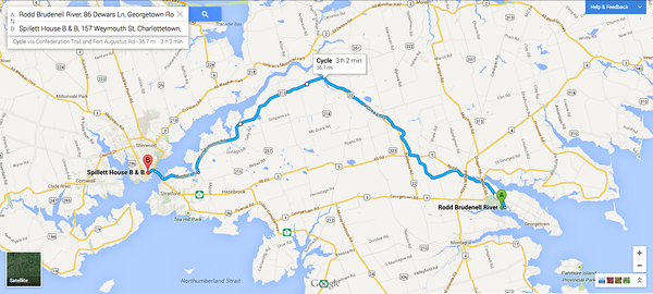 Biking PEI: Day Four: Georgetown-Charlottetown