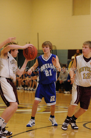 2008-09 Russell Basketball 7/8 vs. Rose Hill